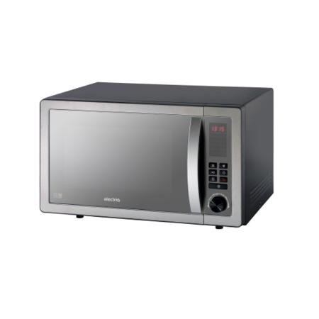 ElectriQ EIQMW9BEH 25L 900W Freestanding Digital Combination Microwave in Black and Stainless Steel