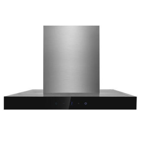 electriQ 60cm Box Slimline Touch Control Chimney Cooker Hood  -  5 Year Warranty