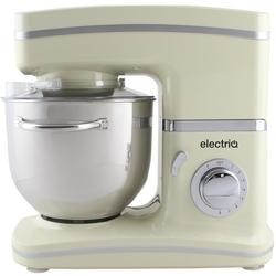ElectriQ 5.2 litre Electric Food Stand Mixer 1500w Cream with Dishwasher Safe Attachments