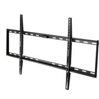 Super Slim Flat to Wall TV Bracket with Spirit Level - for TVs 65 - 100 inch - 50KG Load - Universal vesa up to 800 x 400mm