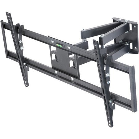 "electriQ Multi-Action Articulating TV Wall Bracket for TVs up to 86"" with VESA up to 800 x 400mm and 45kg Load"