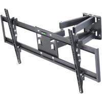 "Multi Action Movement Articulating TV Wall Bracket with Spirit Level for TVs 65"" - 90"" TVs - 45KG Load - Universal vesa up to 800 x 400mm"