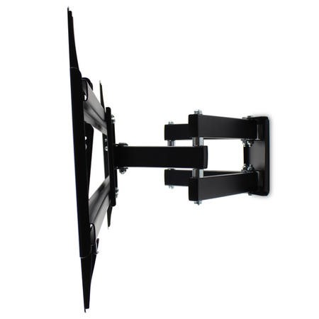 "Multi-Action Movement Articulating TV Wall Bracket with Spirit Level for 55 - 90"" TVs - Universal VESA up to 800 x 400mm and 45kg Load"