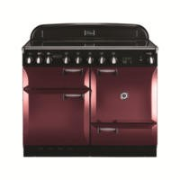 Rangemaster 101210 Elan 110cm Electric Range Cooker With Induction Hob - Cranberry