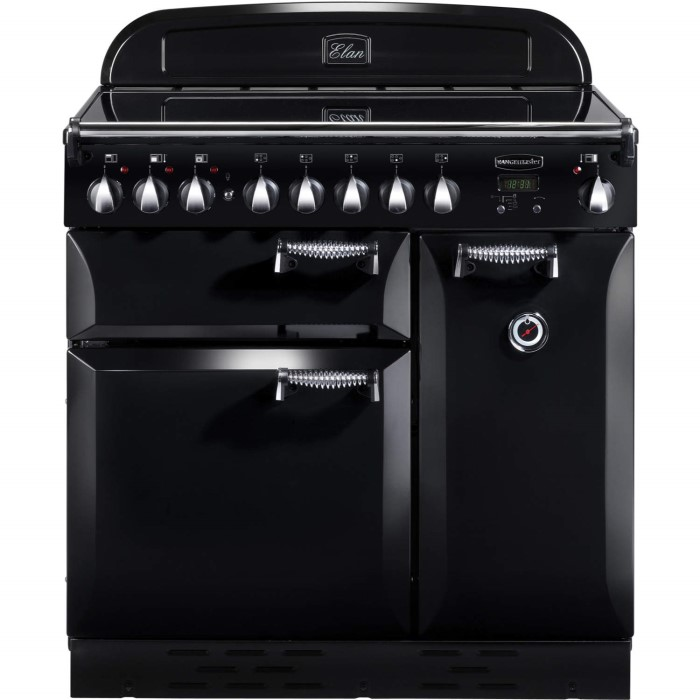 rangemaster 75200 elan 90cm electric range cooker with. Black Bedroom Furniture Sets. Home Design Ideas