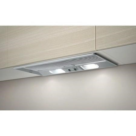 Elica ELB-60-RM ELB60RM Elibloc 9 60 RM Grey 524mm Canopy Cooker Hood With External Motor