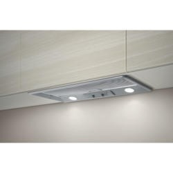GRADE A1 - Elica ELB-60-RM ELB60RM Elibloc 9 60 RM Grey 524mm Canopy Cooker Hood With External Motor