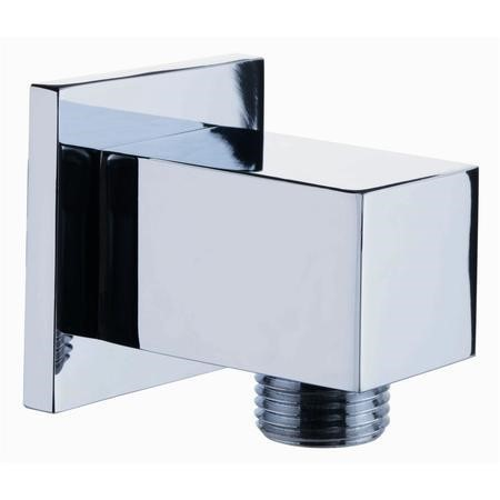 Square Shower Elbow Outlet