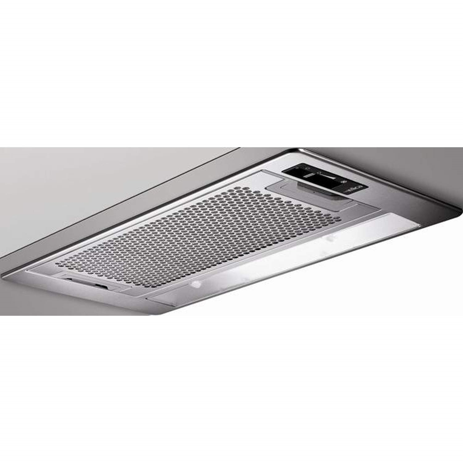 Lovely Elica ELIPLANE60 Eliplane Twin Motor 55cm Canopy Cooker Hood In Stainless  Steel