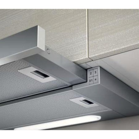Elica ELITE14-90 90cm Slide-away Cooker Hood Stainless Steel