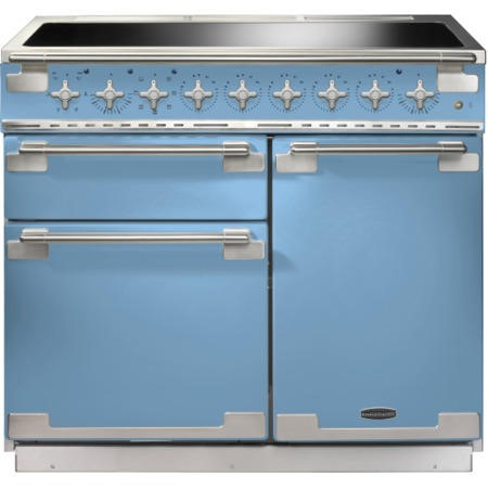 Rangemaster ELS100EICA 100190 Elise 100 Electric Range Cooker With Induction Hob In China Blue