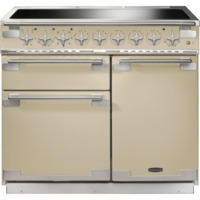 Rangemaster ELS100EICR 100170 Elise 100 Electric Range Cooker With Induction Hob In Cream