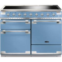 Rangemaster ELS110EICA 100350 Elise 110 Electric Range Cooker With Induction Hob In China Blue