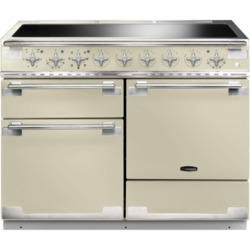 Rangemaster ELS110EICR 100330 Elise 110 Electric Range Cooker With Induction Hob In Cream