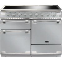 Rangemaster 100340 Elise 110 Electric Range Cooker With Induction Hob - Stainless Steel