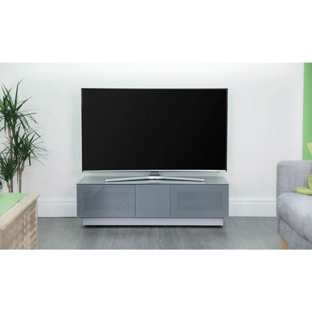 "Alphason EMTMOD1250-GRY Element Modular TV Cabinet for up to 60"" TVs - Grey"