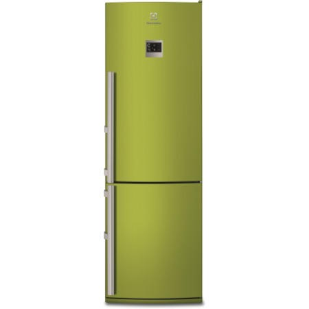 Lovely Electrolux EN3487AOJ Freestanding Fridge Freezer   Green Design