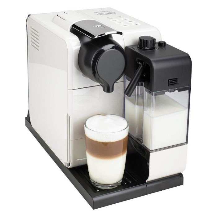 de longhi en550 w nespresso lattissima touch coffee machine white appliances direct. Black Bedroom Furniture Sets. Home Design Ideas