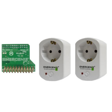 Elgato European Remote Controlled Sockets with Pi-mote ENER002-2PI