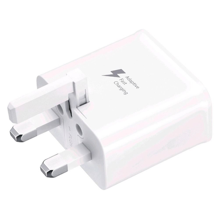 Samsung Fast Charging USB Plug Power Adapter White