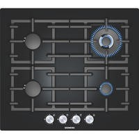 SIEMENS EP616HB91E iQ300 Glass Base 59cm Gas Hob in Black glass