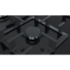 Siemens EP7A6QB90 iQ500 75cm Five Burner Gas On Glass Hob - Black