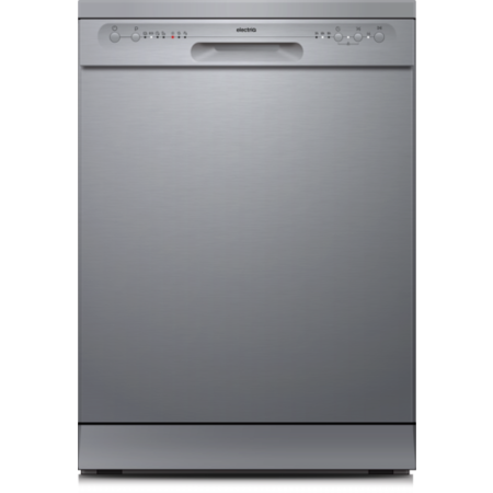 electriQ 12 Place Freestanding Dishwasher - Silver
