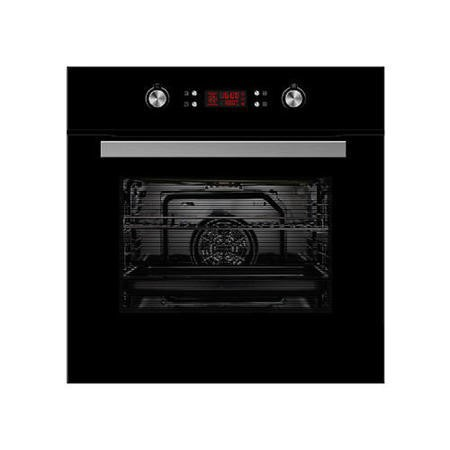 electriQ Built-in 10-Function Electric Pyrolytic Single Oven with onsite warranty