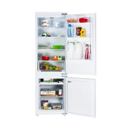 electriQ 269 Litre Integrated Fridge Freezer 70/30 Split 177cm Tall A+ Energy Rating 54cm Wide - White