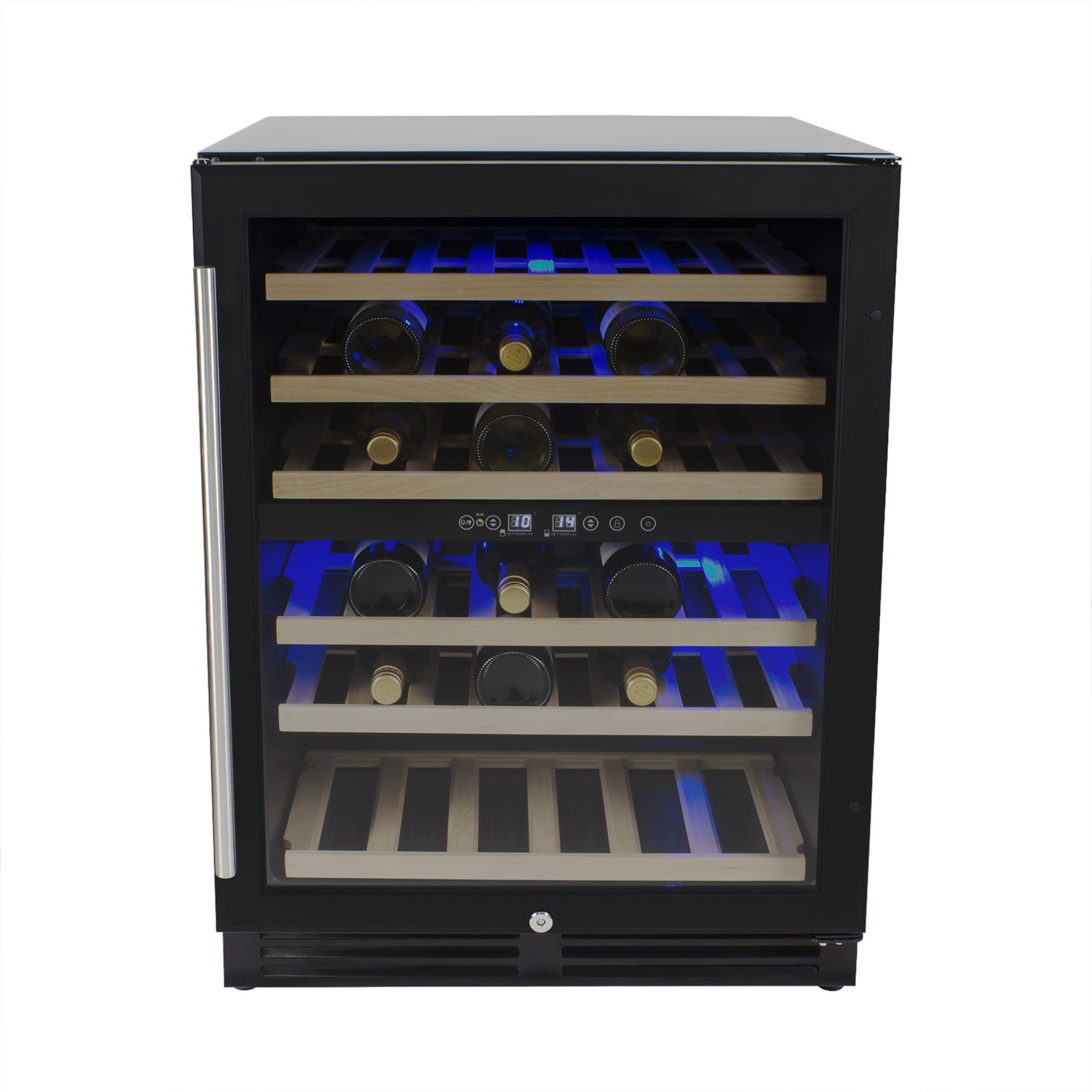 Grade A3 Electriq 60cm Wide 51 Bottle Dual Zone Wine