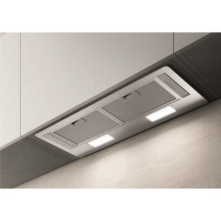 Elica ERA-LUX-SS-80 73.5cm Deluxe Canopy Cooker Hood - Stainless Steel
