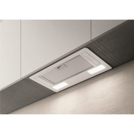Elica ERA-LUX-WH-60 54cm Deluxe Canopy Cooker Hood - White