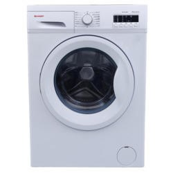 Sharp ES-FA6122W2 Slim-depth 6kg 1200 rpm Freestanding Washing Machine White