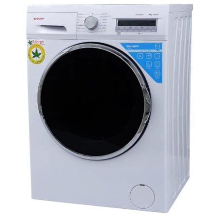 Sharp ES-FC8144W3 Duojet A+++ 1400rpm Washing Machine White