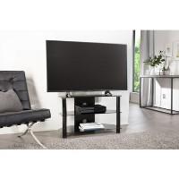 Alphason ESS800/3-BLK Essentials 3 Shelf TV Stand for up to 32
