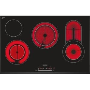 Siemens ET851FC17E Four Zone Ceramic Hob With Three Extendible Zones And Bevelled Edges