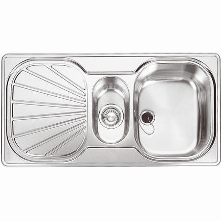Franke EUX 651 Erica 1.5 Bowl Stainless Steel Sink