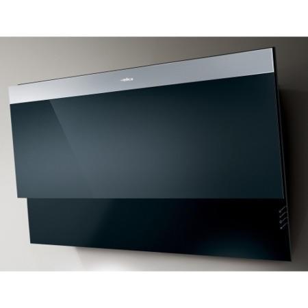 elica evitablk decorative 80cm angled chimney cooker hood. Black Bedroom Furniture Sets. Home Design Ideas