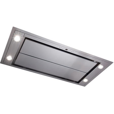 CDA EVX101SS Ceiling Extractor 100Cm Remote Control Stainless Steel