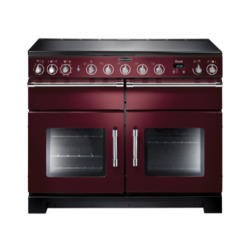 Rangemaster 10559 Excel 110cm Electric Range Cooker With Ceramic Hob Cranberry