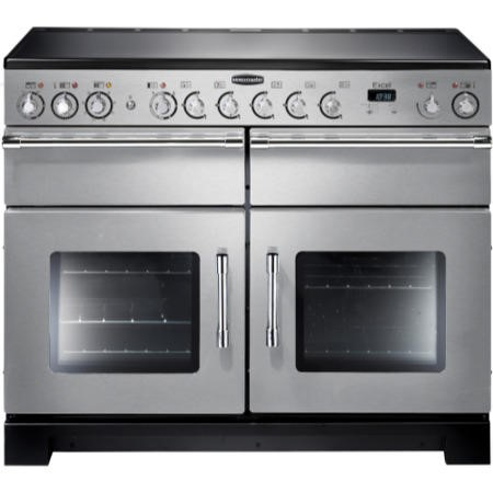 Rangemaster 86170 Excel 110cm Electric Range Cooker With Ceramic Hob - Stainless Steel