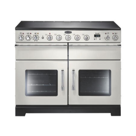Rangemaster 97440 Excel 110cm Electric Range Cooker With Induction Hob - Ivory