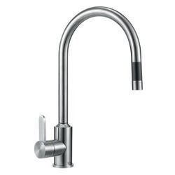 Taylor & Moore Eden Single Lever Stainless Steel Tap with Pull out Spray