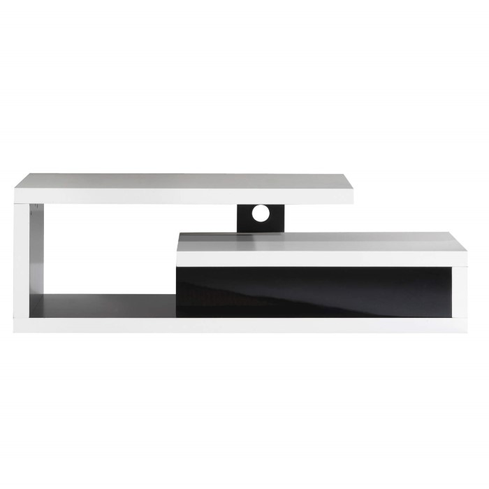 ateca graphique 1400 white tv stand up to 50 inch f at. Black Bedroom Furniture Sets. Home Design Ideas