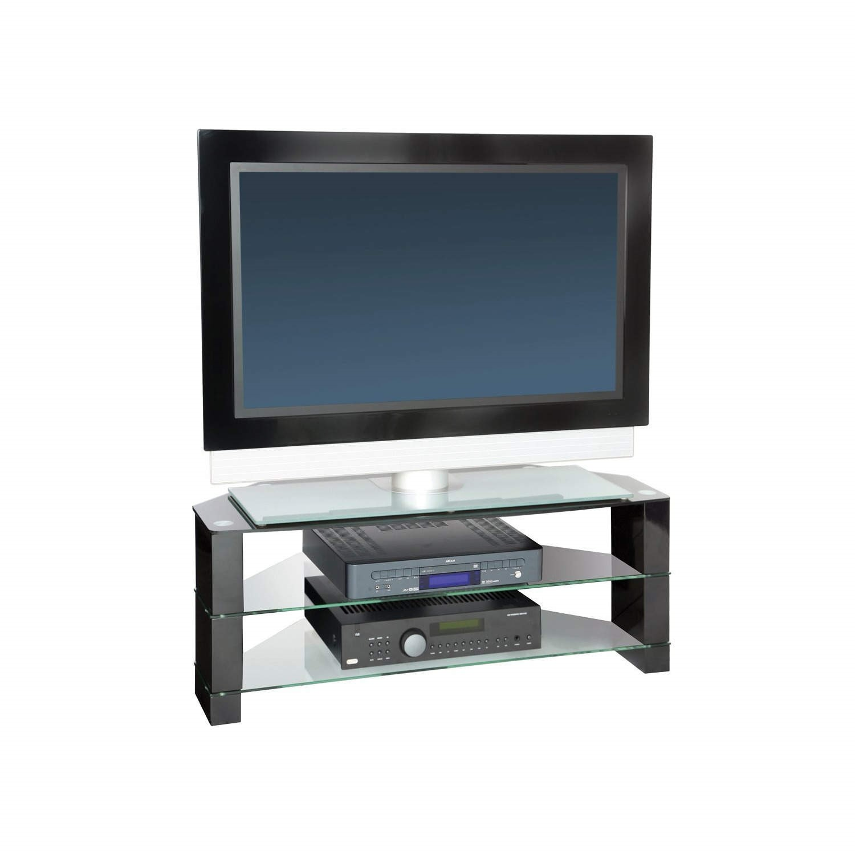 Peerless Manhattan 1000 Black Tv Stand Up To 42 Inch F Man1000c Bk
