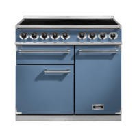 Falcon 100120 - 1000 Deluxe 100cm Electric Range Cooker With Induction Hob - China Blue