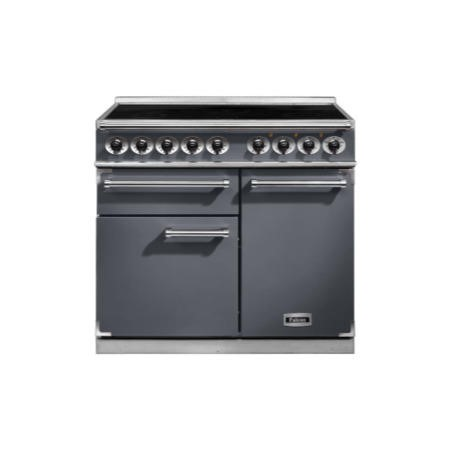 Falcon 102310 - 1000 Deluxe 100cm Electric Range Cooker With Induction Hob - Slate