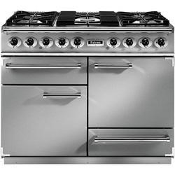 Falcon 69130 - 1092 Deluxe 110cm Dual Fuel Range Cooker - Stainless Steel Chrome - Gloss Pan Stands