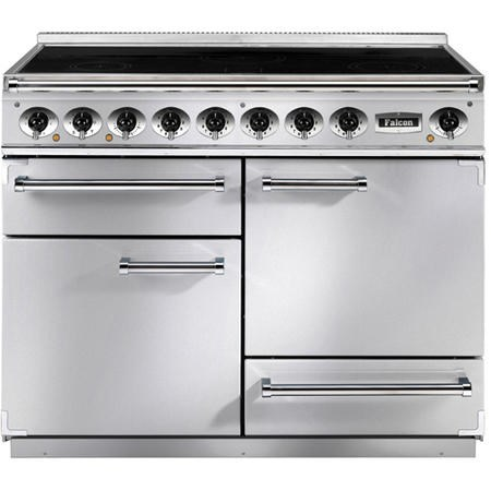 Falcon 81400 - 1092 Deluxe 110cm Electric Range Cooker With Induction Hob - Stainless Steel Chrome