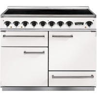 Falcon 82440 - 1092 Deluxe 110cm Electric Range Cooker With Induction Hob - White And Nickel